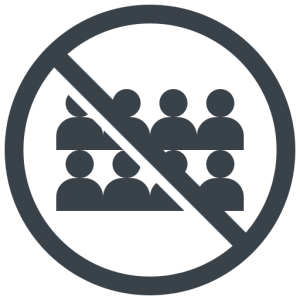 crowd_people_no_avoid_contact_icon_133671